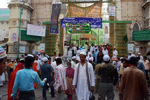 Khwaja moinuddin chishti dargah khwaja saheb ajmer sharif india.